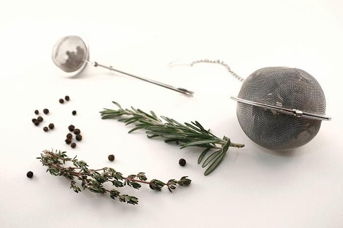 Infusores de té para hierbas aromáticas