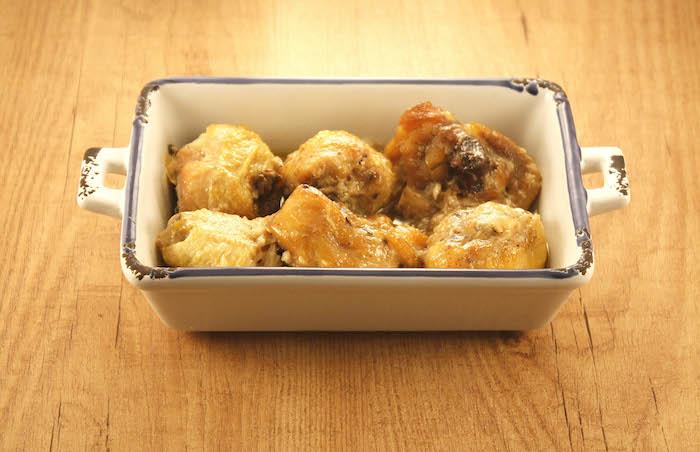 Receta de pollo al ajillo en Crock Pot