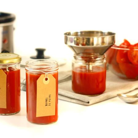 Salsa de tomate. Receta para Crock Pot