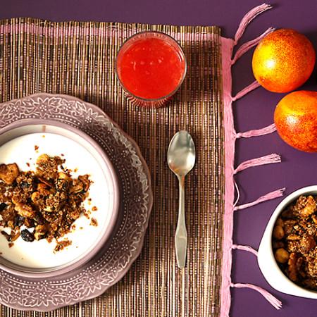 Cómo hacer granola en Crock Pot o slow cooker. Receta paso a paso.