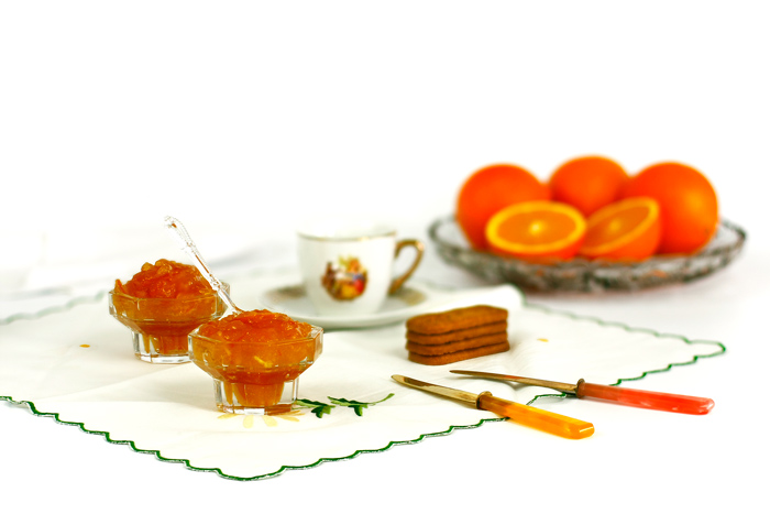 Mermelada de naranja amarga. Receta para crock pot o slow cooker