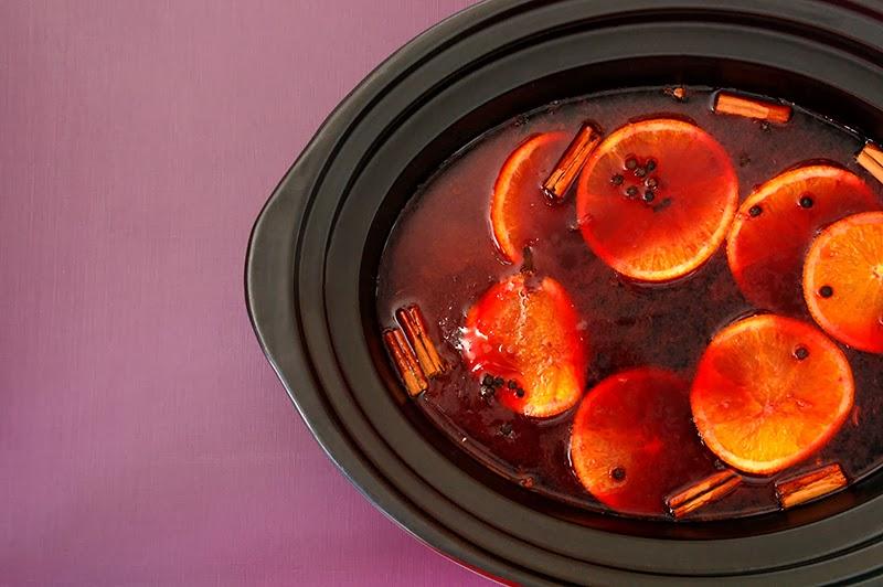 Receta de vino especiado con slow cooker