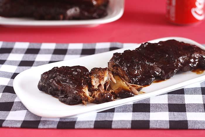 Receta de costillas de cerdo a la barbacoa en Crock Pot