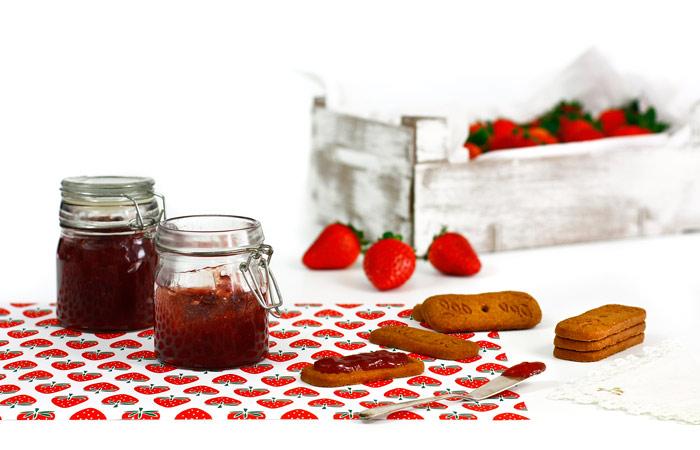 Mermelada de fresa. Receta para crock pot o slow cooker