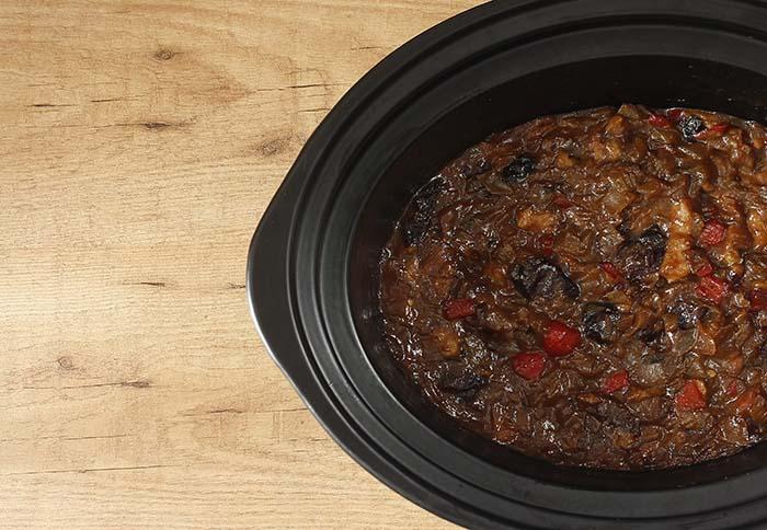 Cómo hacer chutney en Crock Pot