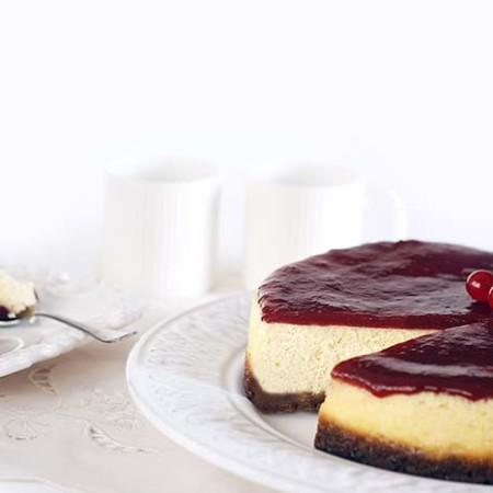 Receta de cheesecake o tarta de queso en Crock Pot