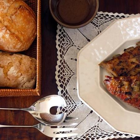 Receta de costillas de cerdo asadas en Crock Pot. Recetas de cenas para crock pot
