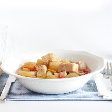 Receta de marmitako en Crock Pot