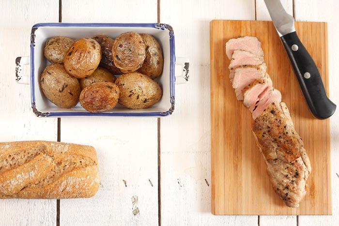 Receta de patatas en cocotte en Crock Pot