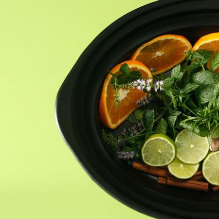 Cómo hacer potpourri o ambientador de cítricos en Crock Pot