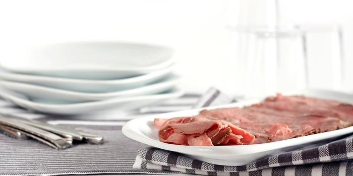 Roast beef. Receta para Crock Pot