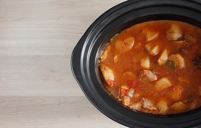 Cómo hacer marmitako en Crock Pot