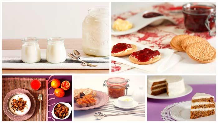 Desayunos y meriendas. Recetas para Crock Pot