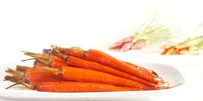 Zanahorias glaseadas a la miel en crock pot