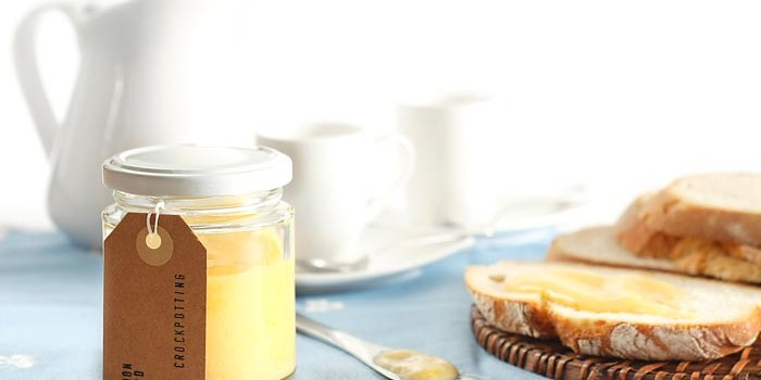 Lemon curd. Receta para Crock Pot