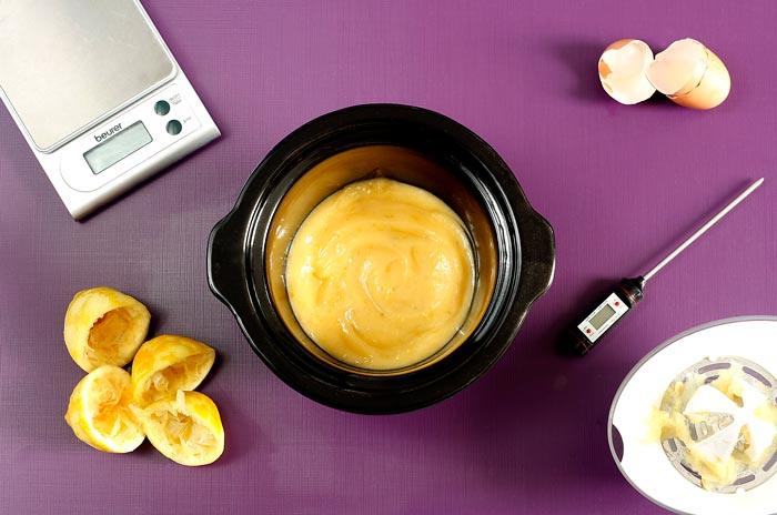 Cómo hacer lemon curd en Crock Pot o slow cooker