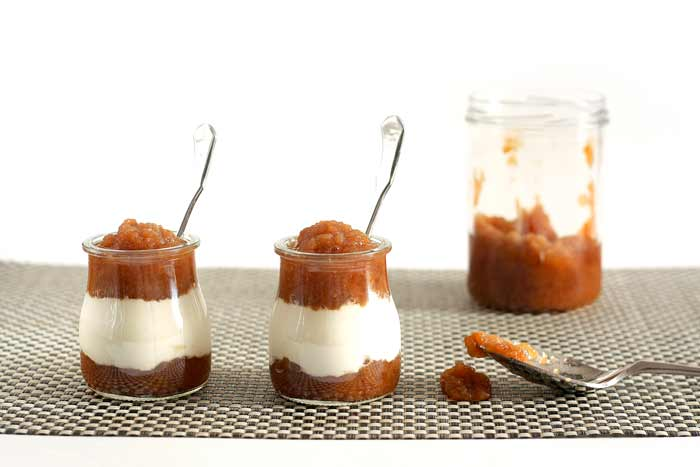 Compota de manzana. Receta para Crock Pot