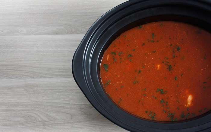 Sopa de pescado. Receta de Navidad para Crock Pot