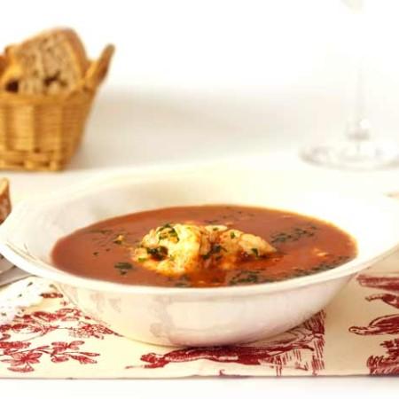 Sopa de pescado. Recetas de cenas para crock pot