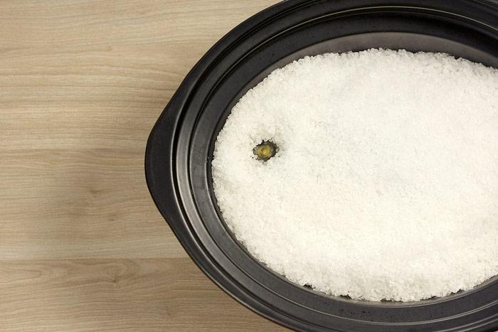 Cómo hacer dorada a la sal en Crock Pot o slow cooker. Receta paso a paso.