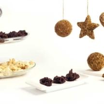 Rocas de chocolate negro y naranja. Receta de Navidad en Crock Pot