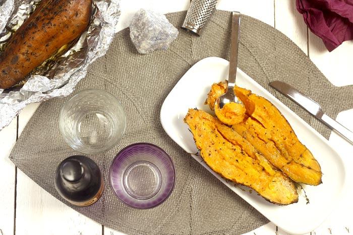 Batatas asadas. Recetas para Crock Pot