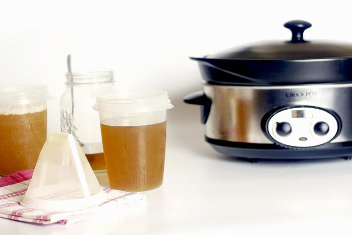 Filtro de café para colar caldos