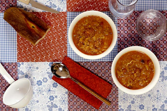 Sopa castellana. Receta para Crock Pot