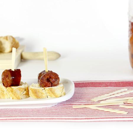 Chorizo de orza. Receta para Crock Pot