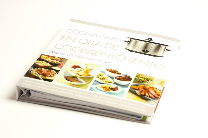 Cocina diaria en olla de cocimiento lento. Libro de recetas para ...