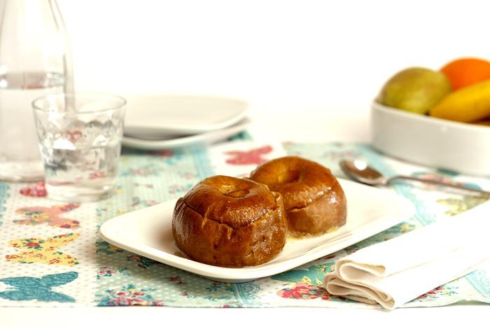 Manzanas asadas tradicionales. Receta para Crock Pot