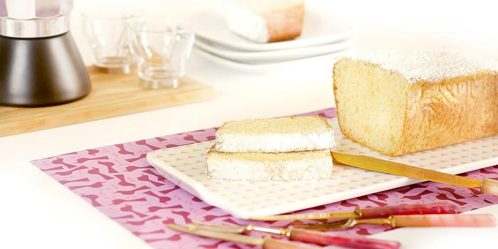 Bizcocho de nata y lima en Crock Pot