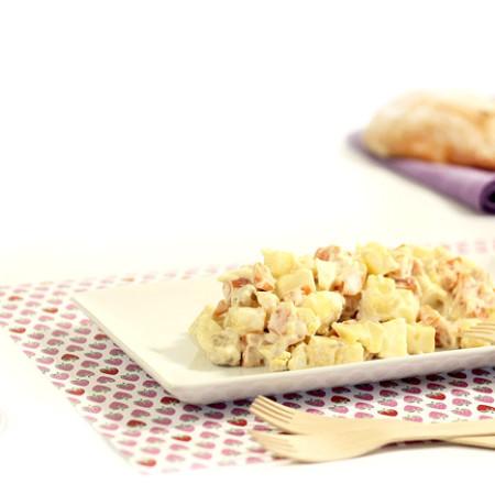 Ensaladilla rusa. Recetas de cenas para crock pot