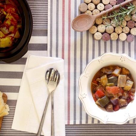 Ratatouille. Recetas de cenas para crock pot