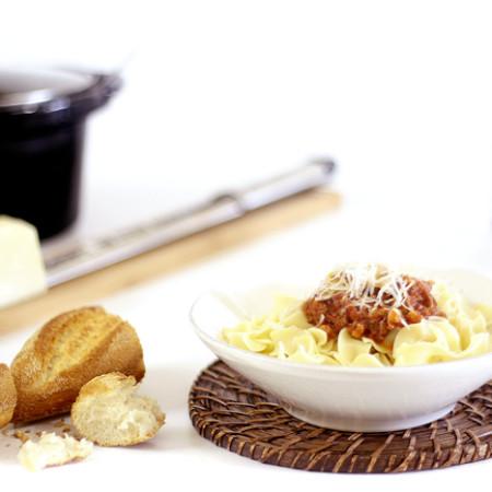Salsa bolognesa. Receta para Crock Pot