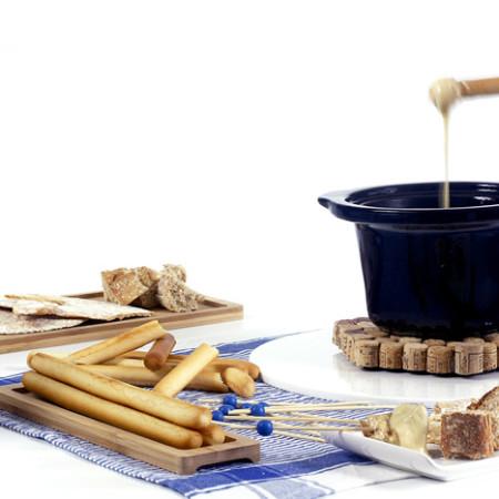 Cómo hacer fondue de queso en Crock Pot o slow cooker. Receta paso a paso.