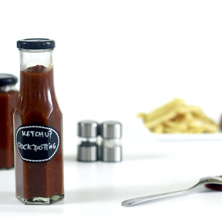 Ketchup. Receta para Crock Pot