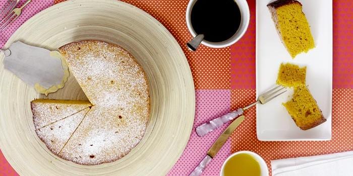 Bizcocho especiado de calabaza en Crock Pot