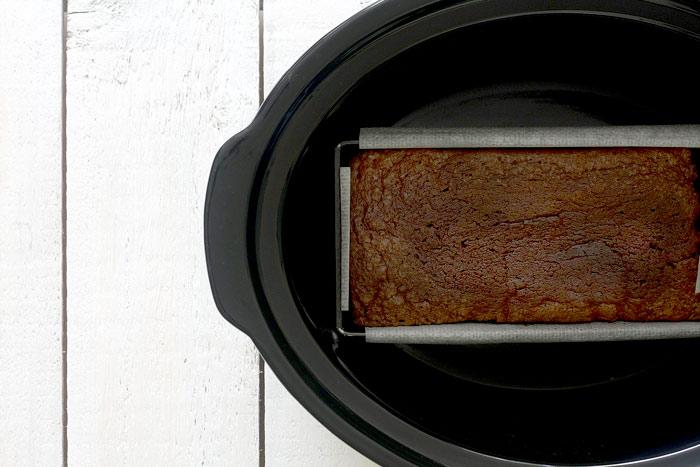 Bizcocho esponjoso de chocolate. Receta para Crock Pot