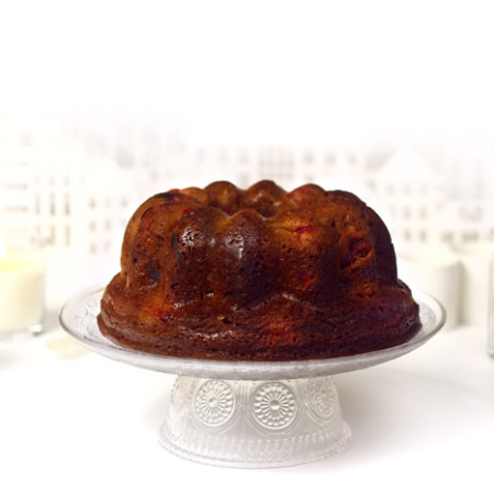Caramel christmas cake. Receta de Navidad en Crock Pot