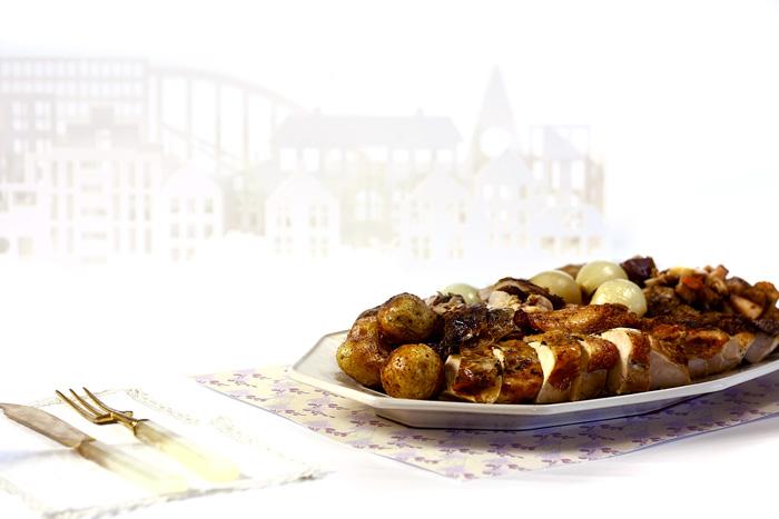 Pavo asado. Receta de Navidad para Crock Pot
