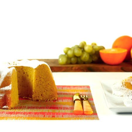 Bizcocho de naranja. Receta para Crock Pot