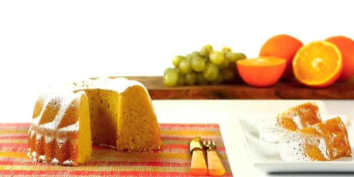 Bizcocho de naranja en Crock Pot