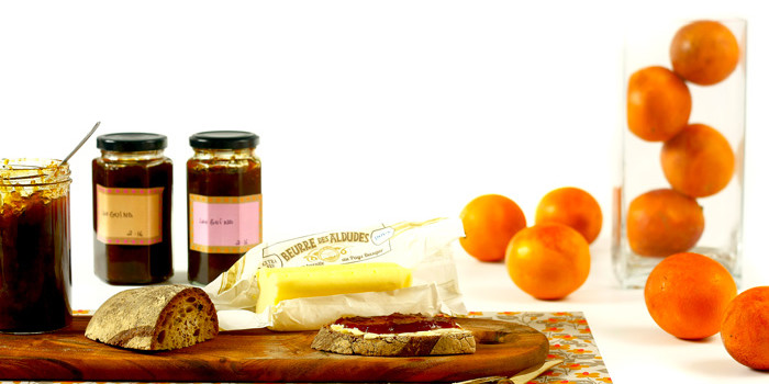 Mermelada de naranja sanguina en Crock Pot