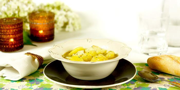 Patatas con bacalao en Crock Pot