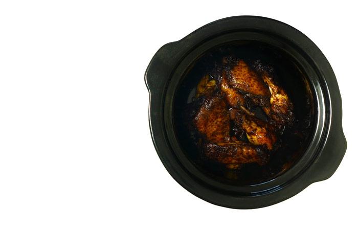 Alitas de pollo orientales. Receta para Crock Pot