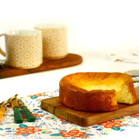 Tarta de queso japonesa. Receta para Crock Pot