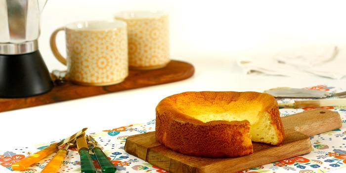 Tarta de queso japonesa en Crock Pot