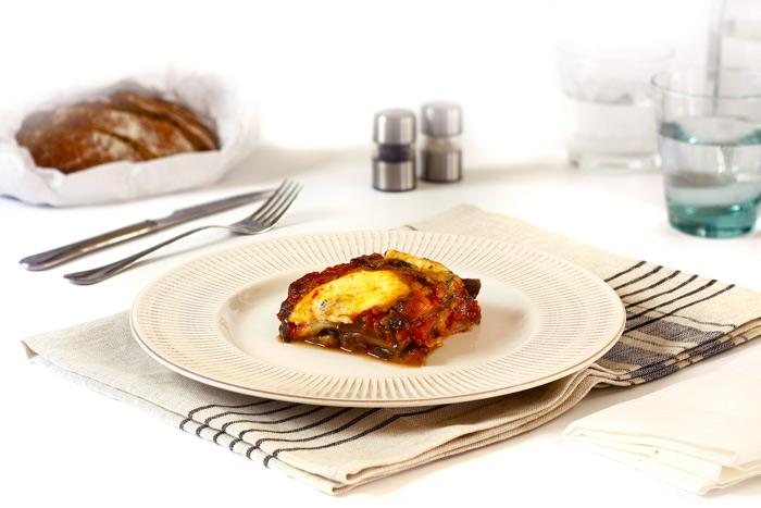 Berenejenas a la parmigiana. Recetas de cenas para crock pot