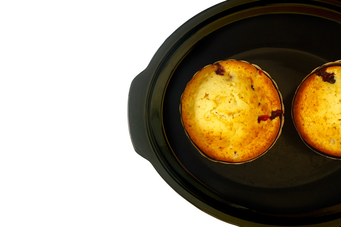 Cupcakes gigantes. Receta para Crock Pot